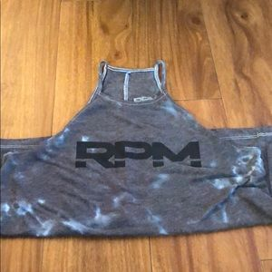 RPM high neck tank top